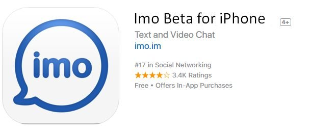 Imo Beta for iPhone/iPad