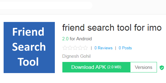 Imo Friend Search Tool APK APP Free Download Latest Version